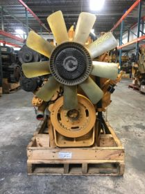 Used Caterpillar 3126 Engine- 7AS14702(7)