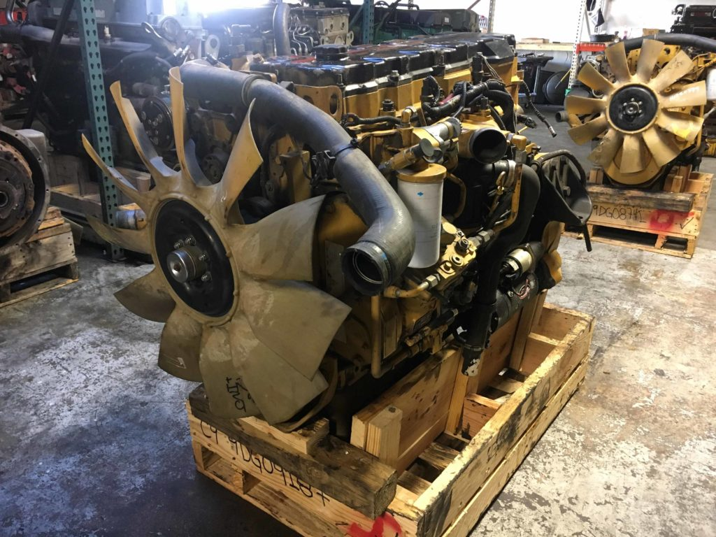 Used Caterpillar C9 Engine For Sale #9DG04187