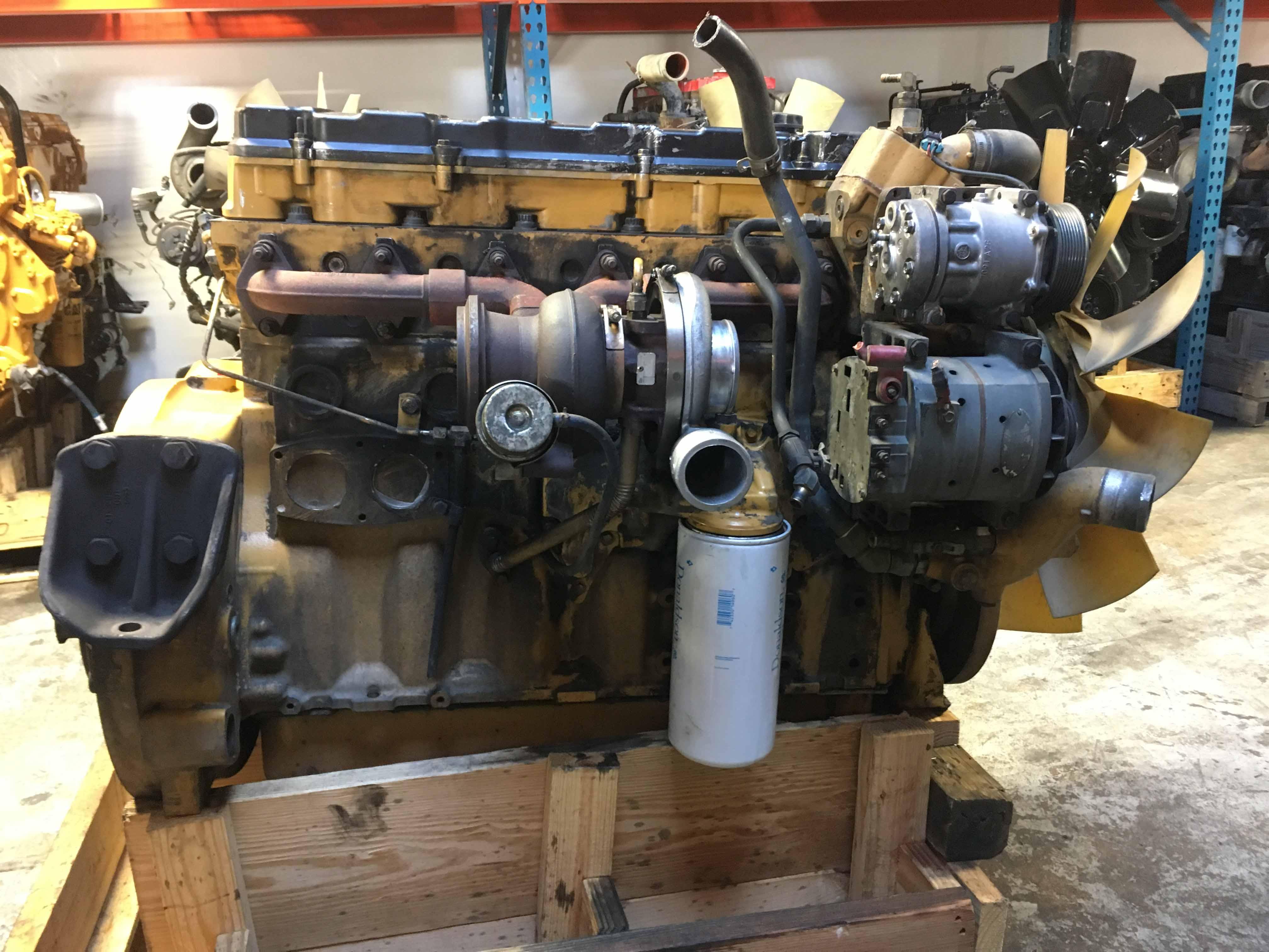 used caterpillar c9 engine for sale 9dg04187 d d diesel. Black Bedroom Furniture Sets. Home Design Ideas