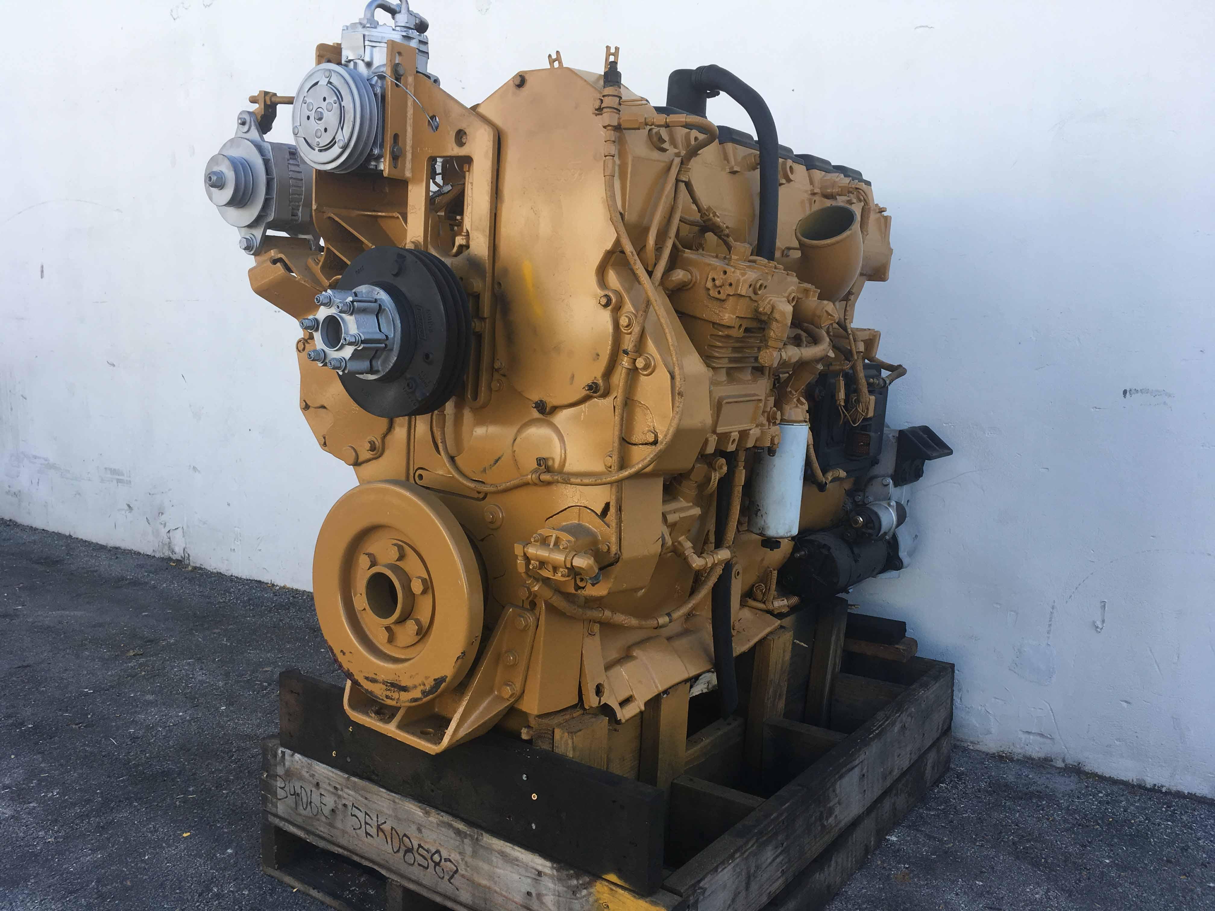Used Caterpillar 3406E Truck Engine For Sale #5EK08582