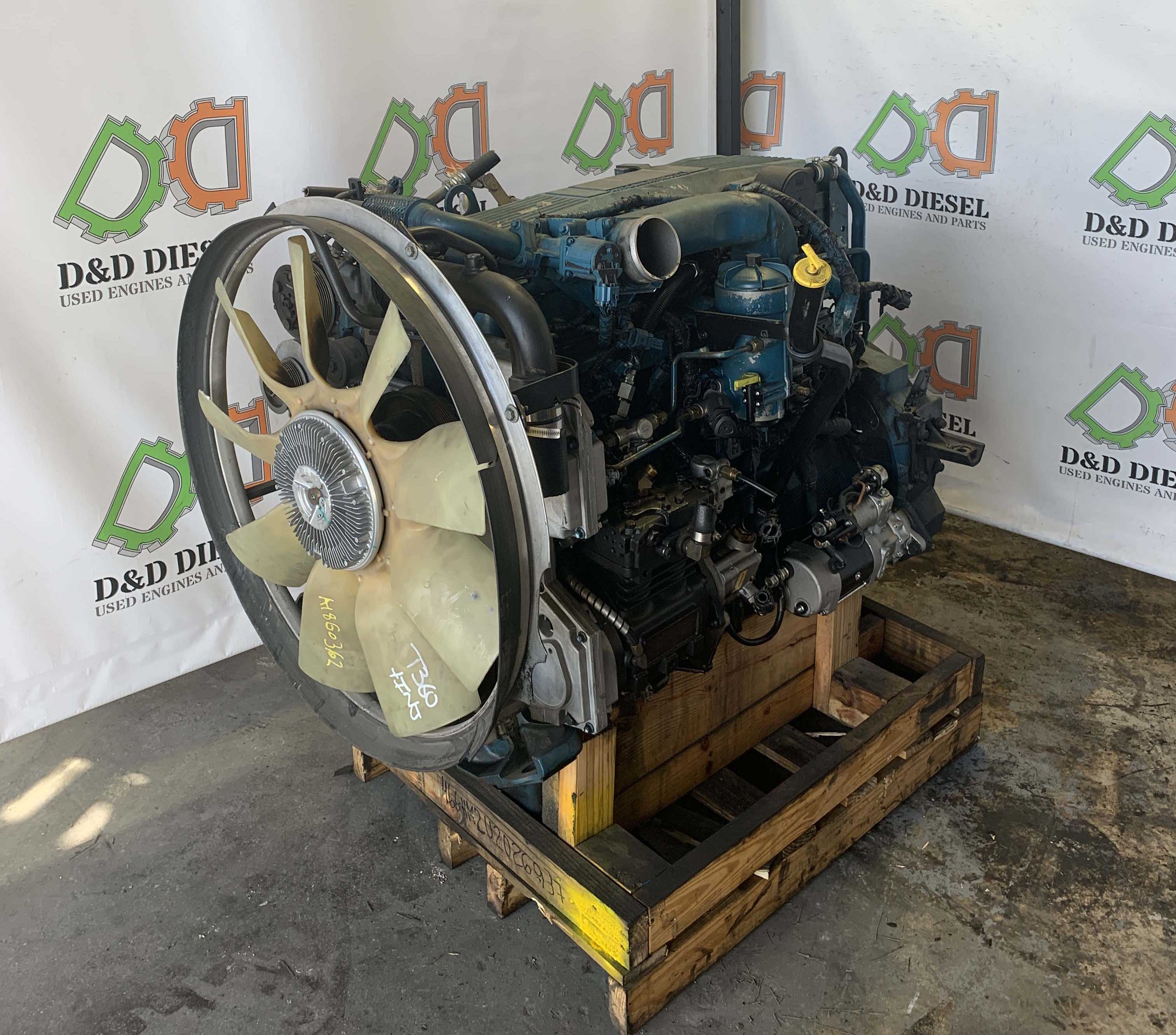 Used International DT466- Engine For Sale #466HM2U2026937