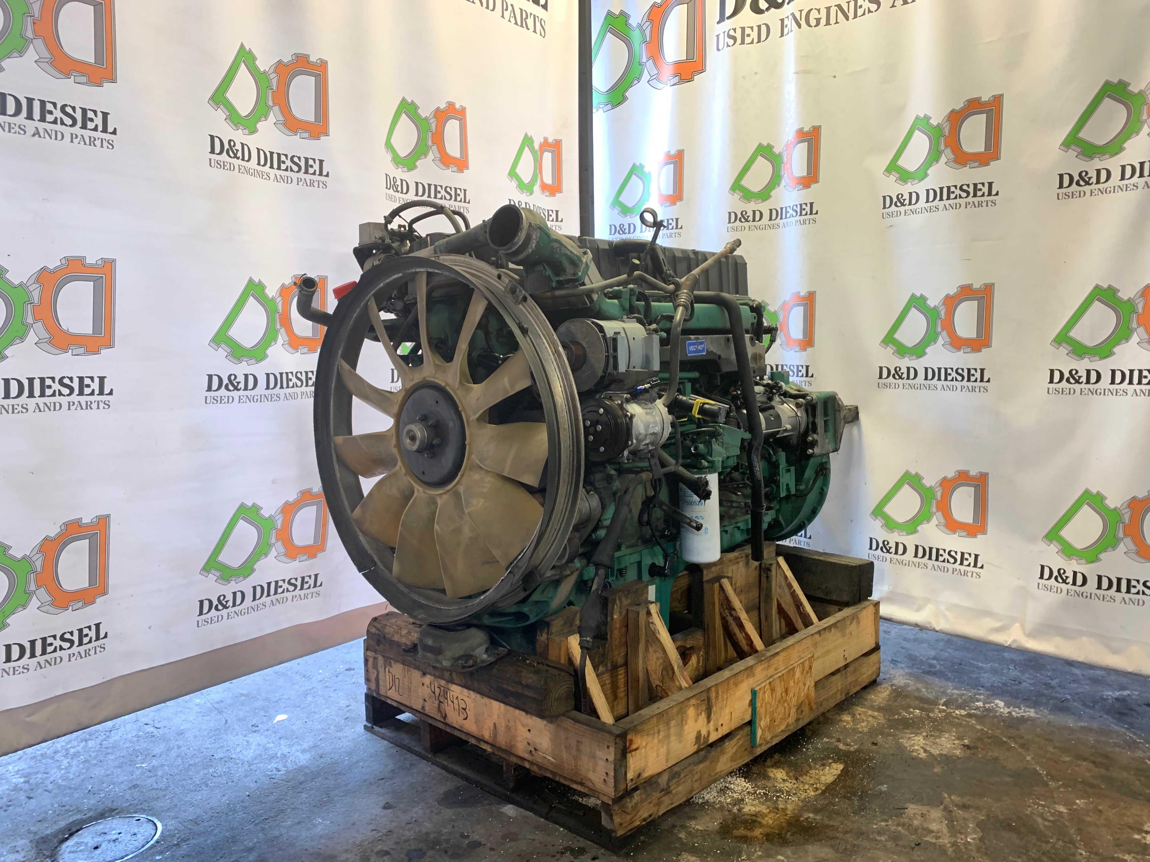 Used Volvo Diesel D12 Engine For Sale #424413 - D&D Diesel   Volvo D12a Engine Diagram      D&D Diesel