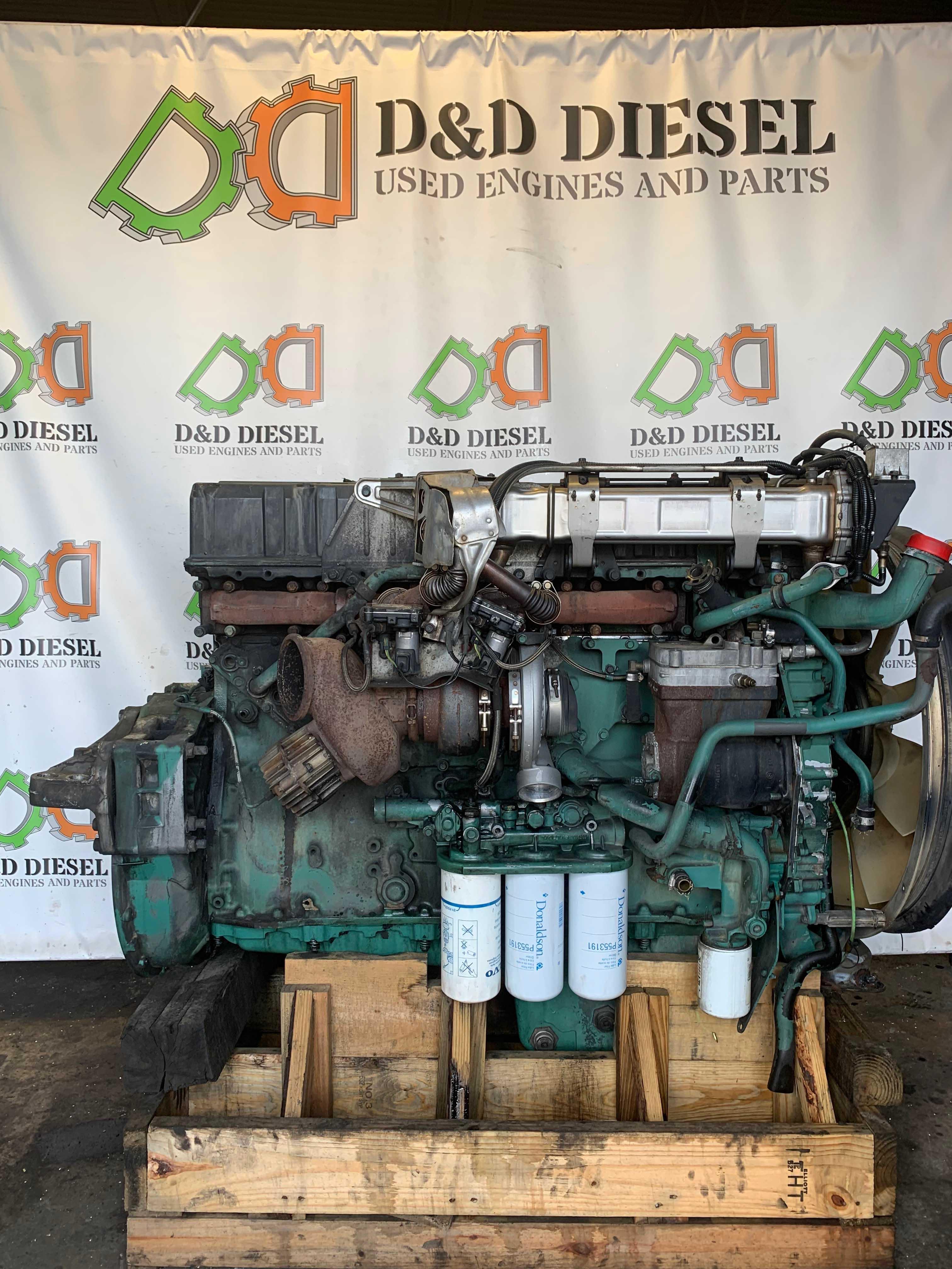 Used Volvo Diesel D12 Engine For Sale  424413